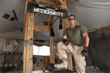 Deployed Marine Builds Gym In Spare Time Military Com