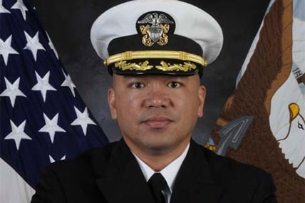 Cmdr. Martin Arriola was relieved after the 2012 USS Porter collision.