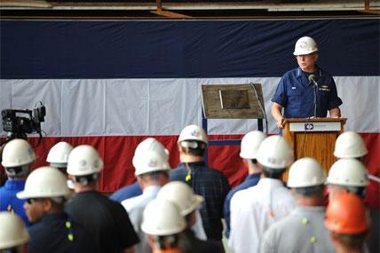 Coast Guard ceremony 428x285