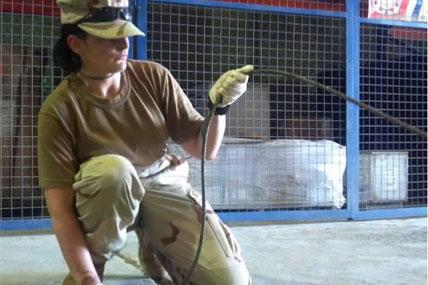 Female Coast Guardsman 428x285