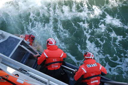 Coast Guard crewmembers 428x285