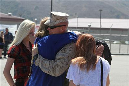 Marines return from deployment 428x285