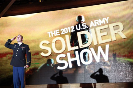 Army soldier show 428x285