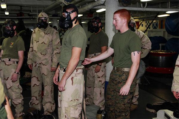 Marines training 600x400