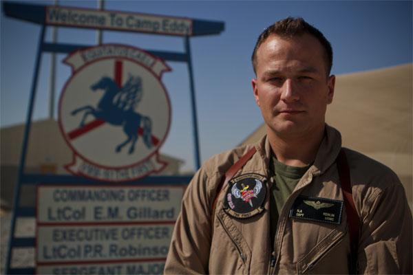 Marine Corps Capt Dustin Kerlin 600x400