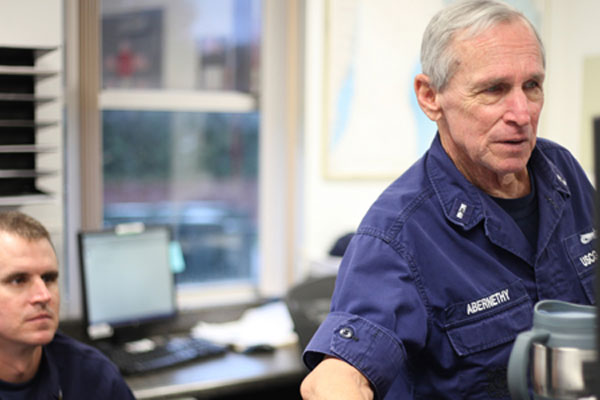 Coast Guard Auxiliarist Chrisman Abernethy 600x400