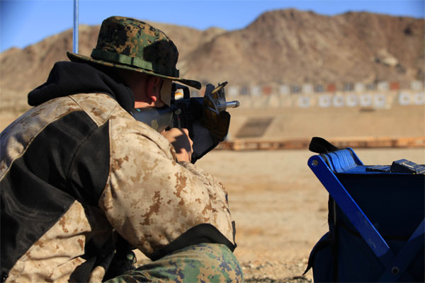 Sgt Wayne Gallagher shooting 600x400