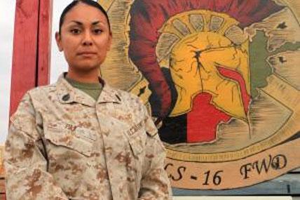 Marine Corps Staff Sgt Monica Paz 428x285
