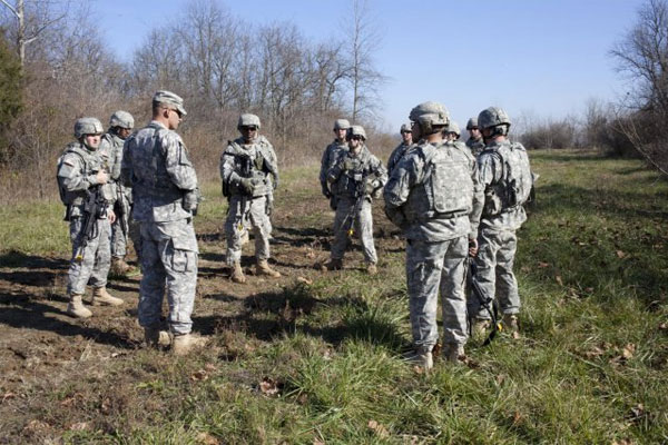 Reserve soldiers training 600x400