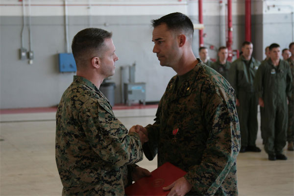 Maj Troy D Callahan received Bronze Star 600x400