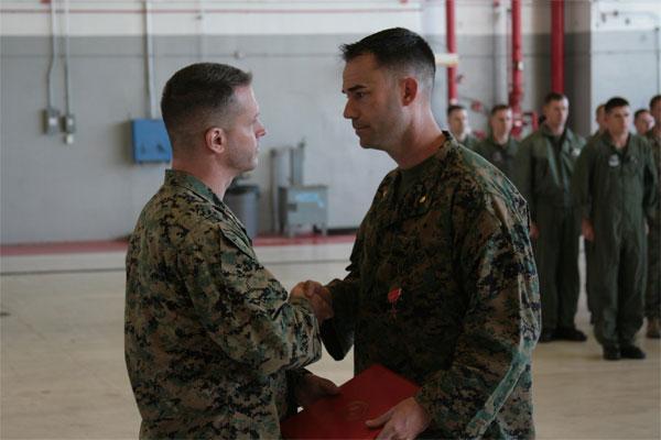 Maj Troy D Callahan received Bronze Star 600x400