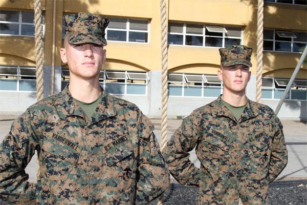 Marine twins 600x400