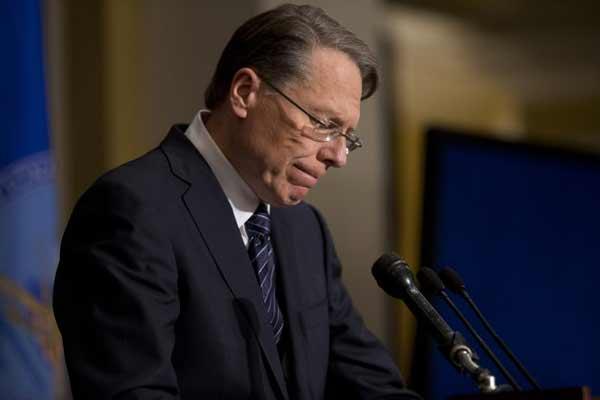 NRA lobbyist, Wayne LaPierre