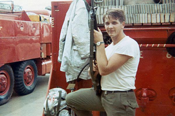 Air Force Firefighter Donald Warner 600x400