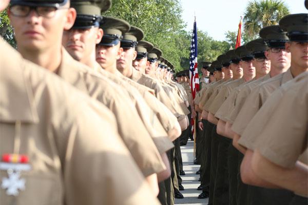 Marine service B uniform 600x400