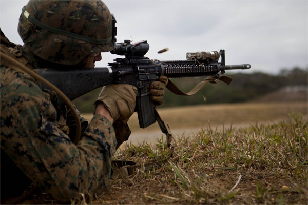 Marines Keep 'Rifleman' While Rolling Out Gender-Neutral Job ...