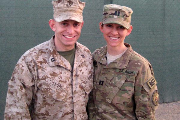 Army wife, Marine husband 600x400