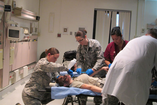AF simulated trauma victim 600x400