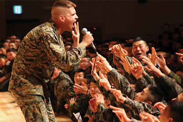 Marine band performance 600x400