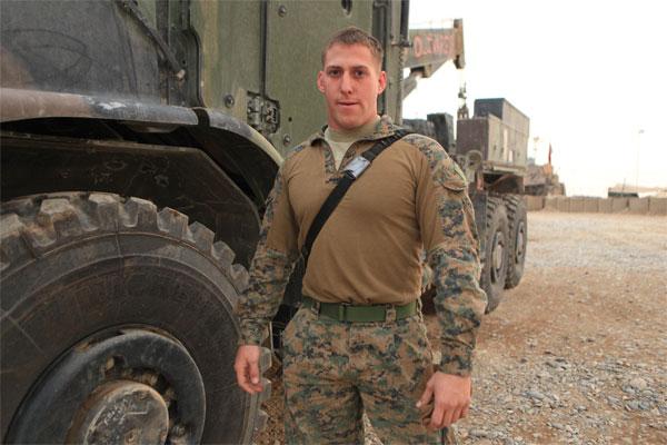 Marine Corps Cpl. Stephen Karavolos 600x400