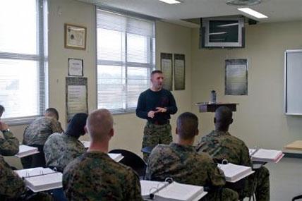 Marine Master Sgt. Kenneth A. Roberts 428x285