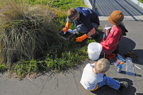 Coast Guard cleans up park 600x400