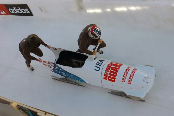 Soldiers on bobsled 600x400