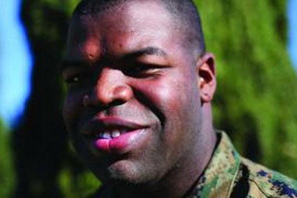 Marine Corps Sgt. Dennis Rollins 428x285