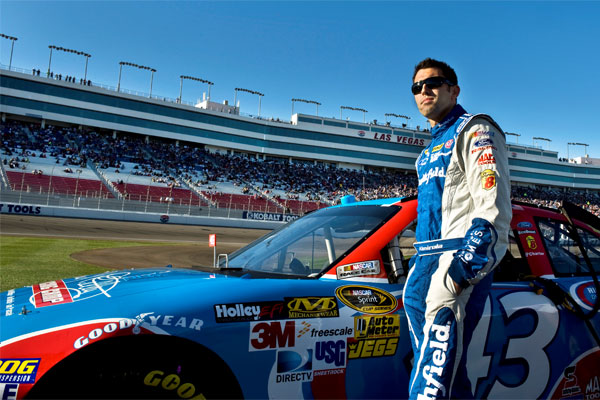 Aric Almirola, driver for the Air Force-sponsored car 600x400