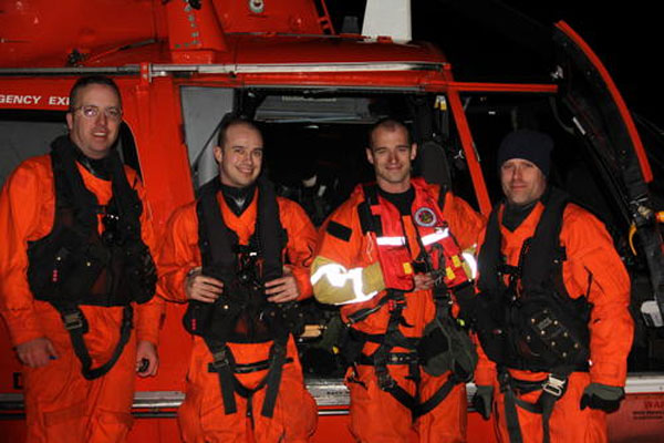 Coast Guard Aircrew 600x400