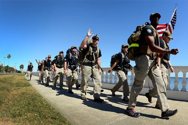 Air Commandos marching 600x400