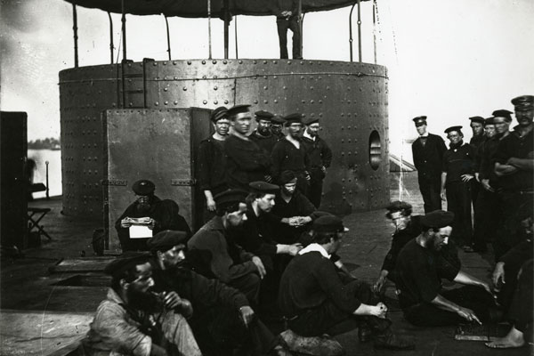crew of USS Monitor 600x400