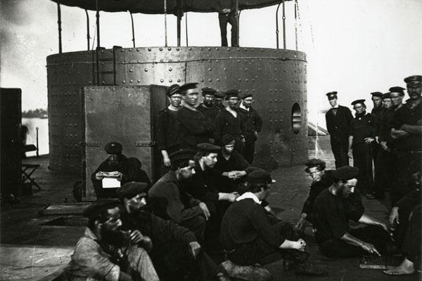 crew of USS Monitor 600x400