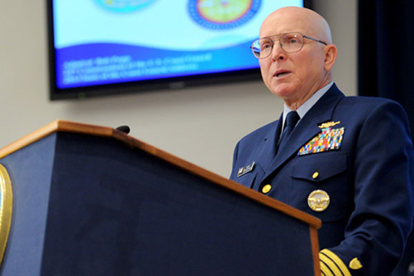 Coast Guard Commandant Adm. Bob Papp 600x400