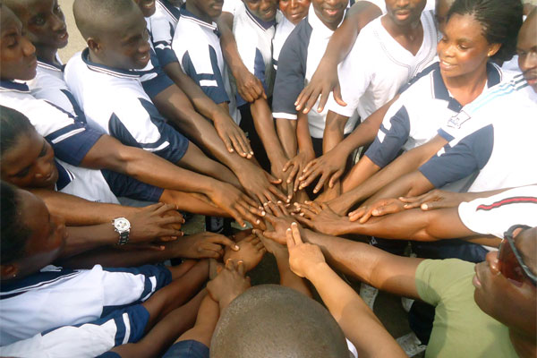 Marine at Ghana Navy Trade Training School 600x400
