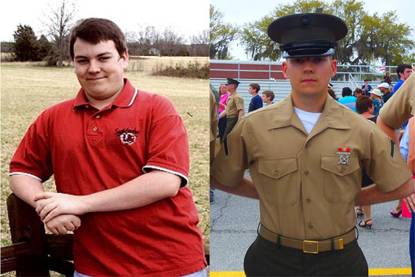 Marine Pfc. Christopher G. Reynolds 600x400