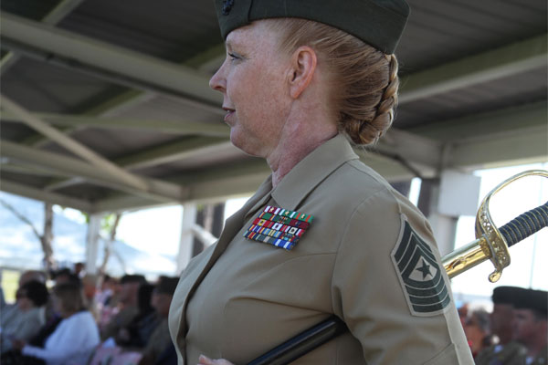 Sgt. Maj. Holly C. Prafke 600x400