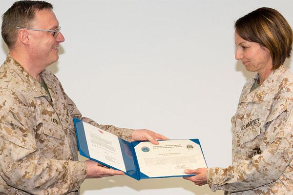 Marine Corps Maj. Robyn Mestemacher 600x400
