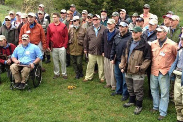 Veterans in fly fishing competition 600x400