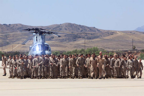 Marine homecoming 600x400
