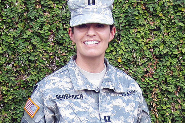 Army Capt. Kathrine Berberich 600x400