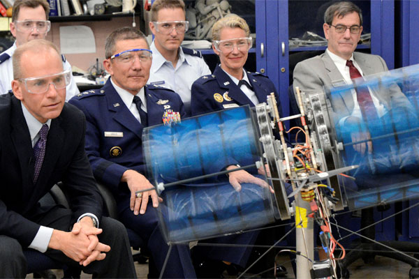 demonstration of cadet aeronautical engineering project 600x400