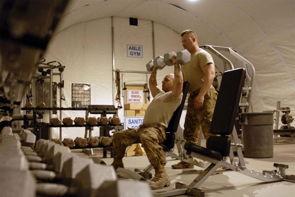 veterans lift their way to success in fitness careers