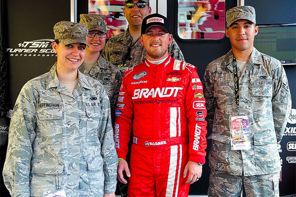 Airmen Experience NASCAR as Honorary Pit Crew