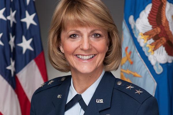 Maj. Gen. Margaret Woodward 600x400