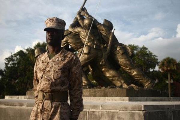 Marine Pfc. Arryor Olu Jones 600x400
