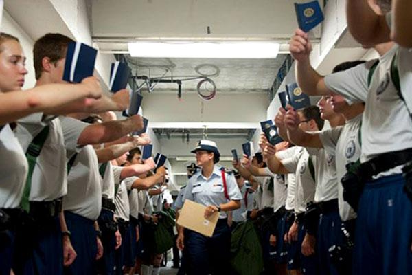 Coast Guard Academy cadets 600x400
