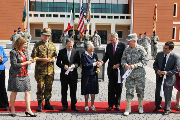 New base opens in Italy 600x400