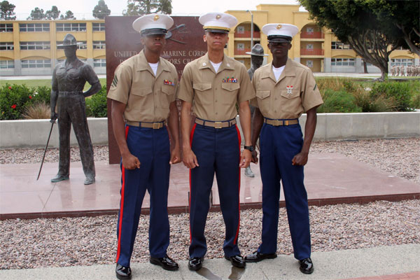 Brothers in the Marine Corps 600x400