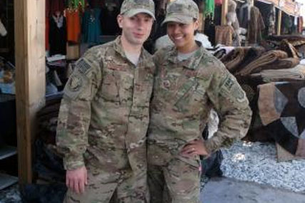 AF couple deployed 428x285